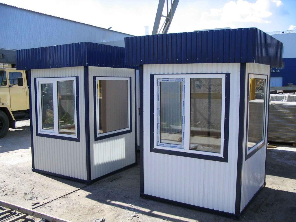 Охранная будка – функциональное помещение для охранников